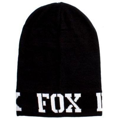 Fox Shock Slouch Beanie - Black