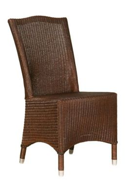 Classic Lloyd Loom Chair Colonial Brown