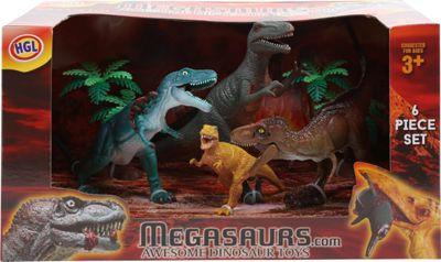Megasaurs 6 Dinosaur Figure Box Set