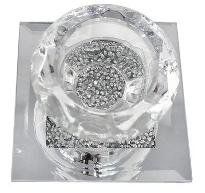 Single Milano Tealight Holder Silver