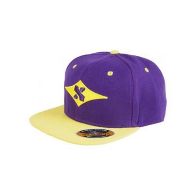 Sacrifice Original Snapback Purple/Yellow