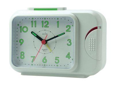 Acctim 12612 Sonnet Quartz Bell Alarm White