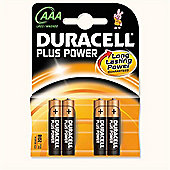 Duracell MN2400B4 Alkaline 1.5V non-rechargeable battery