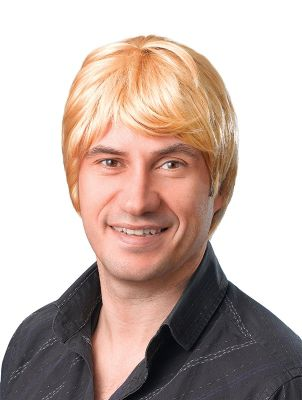 Male Wig. Short. Blonde