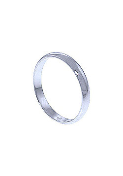 QP Jewellers Wedding Band in 14K White Gold