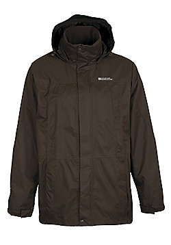 Guelder Men's Waterproof Jacket - Brown