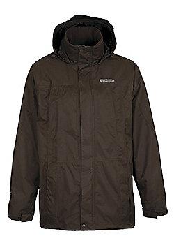 Guelder Men's Waterproof Jacket - Brown