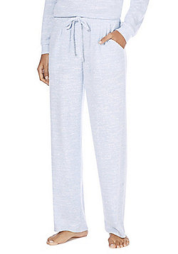 F&F Slub Jersey Lounge Pants - Blue