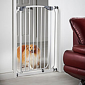 Milo & Misty Extra Tall 100cm Pet Gate with 72 - 82cm High Pressure Fit