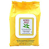 Burt's Bees Facial Cleansing Towelettes with White Tea Extract 30 Wipes