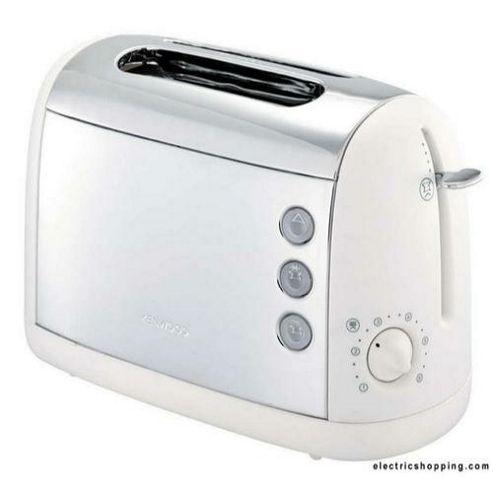 Kenwood TT391 Two White Slice Stainless Steel Toaster