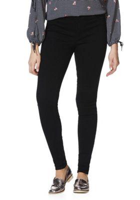 JDY High Rise Skinny Jeans Black M (10) 32 Leg