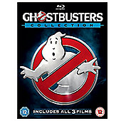 Ghostbusters 1-3 Collection Blu-ray