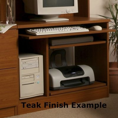 Enduro Home Office Desk / Workstation - English Oak