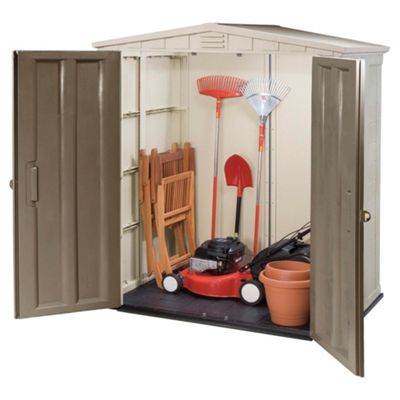 Garden Sheds direct Plastic Wooden Sheds Tesco