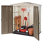 Keter Apex Plastic Garden Shed, 6x3ft