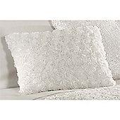 Rapport Limoges Cream Filled Boudoir Cushion - 30x50cm