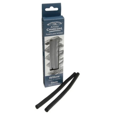 Winsor & Newton Assorted Thin, Medium & Thick Charcoal Sticks