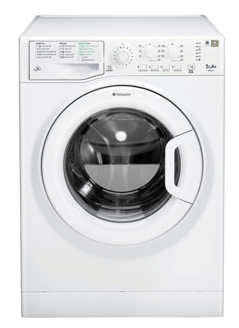 Hotpoint Wmsl 501P Washing Machine, 5Kg Load, 1000 Rpm Spin, A+ Energy Rating, White
