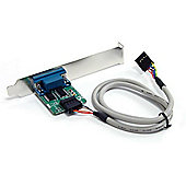 StarTech Internal USB Motherboard Header to Serial RS232 Adaptor (0.61m)