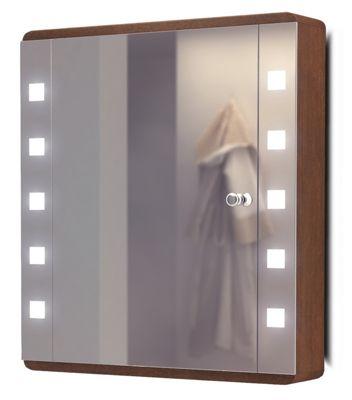 Ambient Solid Oak Bathroom Cabinet With Demister, Sensor & Shaver Socket K4Dw