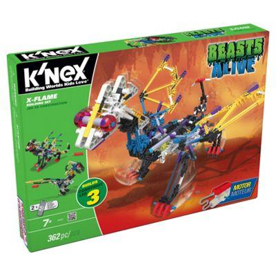 K'Nex Beasts Alive X Flame Building Set