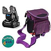 Navitech Purple Case Bag Cover for the Anki Cozmo