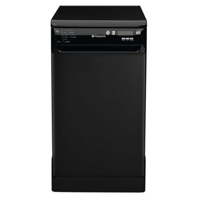 Hotpoint SDD910K Slimline Dishwasher, A Energy Rating, Black