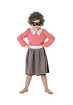 The World of David Walliams Gangsta Granny Costume - Pink