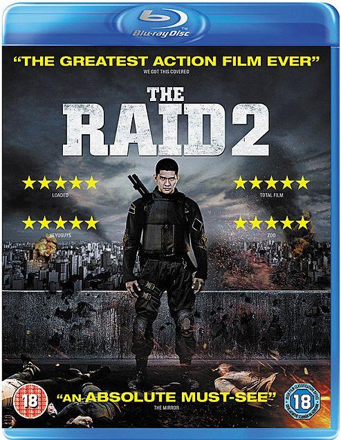The Raid 2 Blu Ray