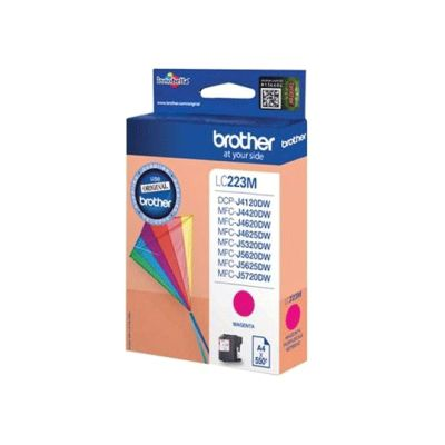 Brother LC223 Inkjet Cartridge (Magenta) 550 Page Yield