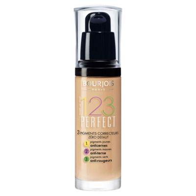 Bourjois 123 Perfect Foundation Light Vanilla