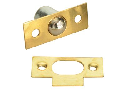 Forge Bales Catch -Brass Finish Pack of 2
