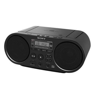 SONY ZSPS55B CD Boom Box DAB/FM Digital Tuner USB Playback