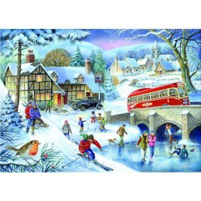 Winter Games Puzzle