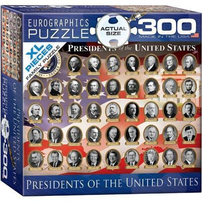 Presidents of the United States Extra Large Piece Puzzle