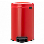 Brabantia Pedal Bin newIcon, 3L - Passion Red