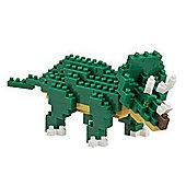 Nanoblock Triceratops Puzzle - Construction