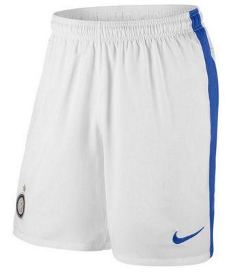 2013-14 Inter Milan Away Nike Football Shorts (White)