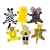 Bigjigs Toys Safari Finger Puppets