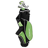 Young Gun Zaap Ace Junior Kid Right Hand Golf Set + Bags Age 12-14 Green