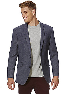 F&F Twill Regular Fit Jacket - Indigo