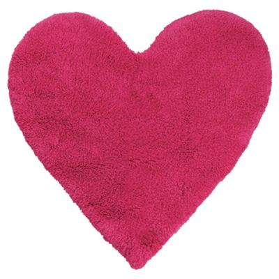 Kids Pink Heart Rug