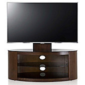 AVF Buckingham Walnut TV Stand With Mount for up to 55 inch