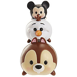 Disney Tsum Tsum 3 Pack Series 2 Mickey, Olaf and Chip