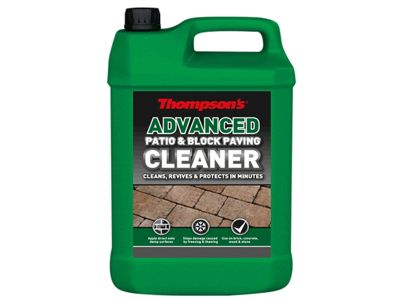 Ronseal Patio & Block Paving Cleaner Protect 5 Litre