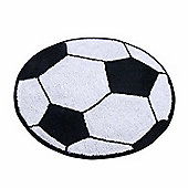 Homescapes Cotton Tufted Washable Football Children Rug