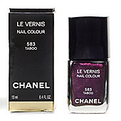 Chanel Le Vernis Purple Nail Polish 583 Taboo