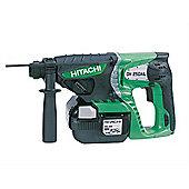 Hitachi DH25DAL SDS Plus Hammer Drill 25.2 Volt 2 x 2.0Ah Li-Ion
