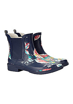 Mountain Warehouse Ankle Mud Womens Wellies - Blue